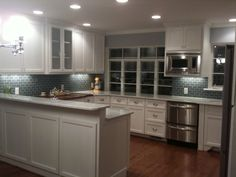 fresh and clean kitchen, What was once a lime green 50s galley style eye sore is now a fresh and clean kitchen heaven. , Kitchens Design