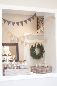 How to throw a Favorite Things Party- but I love everything about this party decor!