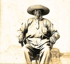 Juan Noriega - Afro-Argentine soldier Veteran General Lavalle, Lord John Noriega.  General Archive of the Nation. Photographic documents. Amateur Album No. 9. Inventory 213,372.