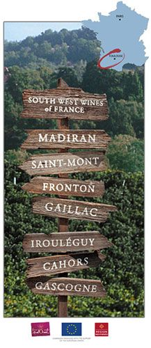 Wines of Southwest France, different types of wines to try.