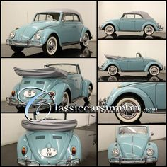 1963 VW Convertible Cabriolet This is my dream car love love love!!!