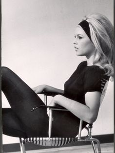 Bridget Bardot had the best teased hair of all time...