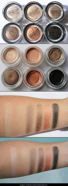 Maybelline Dare to Go Nude Color Tattoos love these  i have eternal gold