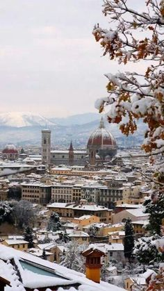 Firenze with snow