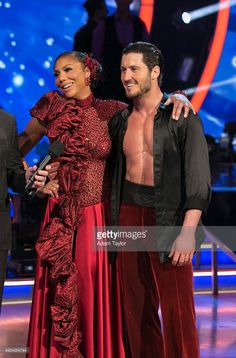 Episode 2108' - The 'Dancing with the Stars' celebrities paid tribute to influential figures in their lives on MONDAY, NOVEMBER 2, 2015 (8:00-10:01 p.m., ET). Tamar and Val