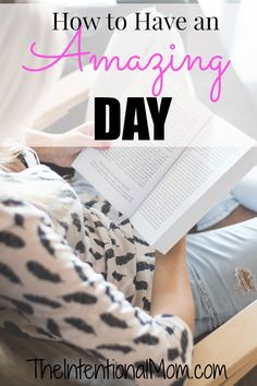Are you wondering how to have an amazing day? In actuality, having a great day starts the night before. Read more on how you can set yourself up for success!