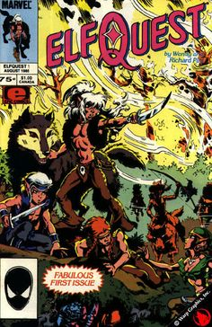 ElfQuest: After Claremont, the biggest influences on my work as both an author and an artist - especially as an artist. As a kid growing up, Elfquest filled me with the same sense of wonder and fantasy that the Hobbit did. The original series is an unrivaled piece of fantasy literature, and I was glad to be a part of it in my early 20s as an artist on Blood of Ten Chiefs.