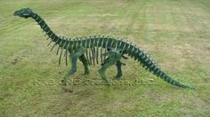 Brontosaur Plywood Sculpture