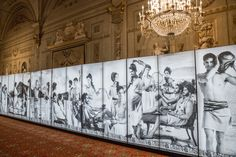"""Inside Karl Lagerfeld's """"Visions of Fashion"""" exhibit on display at the Palazzo Pitti."""