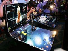 4d touch screen technology