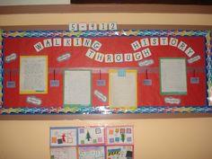 Bulletin board for Social Studies DBQ essays