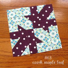 farmer's wife sampler, block 63 by quirky granola girl, via Flickr