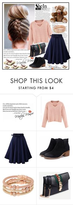"""""""Shein 10/X"""" by merima-p ❤ liked on Polyvore featuring ASOS, WALL and Henri Bendel"""