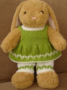 Knitted Clothes to Fit Build A Bear Size Bears %u2013 Belinda Bears & Crafts