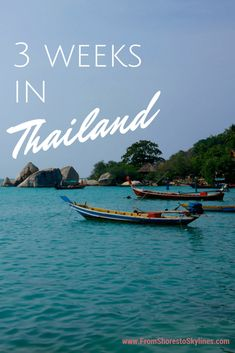 3 weeks in Thailand (beaches, cities, history and elephants at Boon Lott's Elephant Sanctuary) - a full itinerary and budget - perfect for our upcoming trip Amanda! Thailand Adventure, Thailand Travel Tips, Phuket Thailand, Asia Travel, Adventure Travel, Backpacking Thailand, Thailand Honeymoon, Laos, Places To Travel