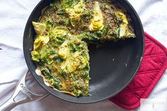 Artichoke, Spinach and Herb Frittata | 21 Low-Carb Dinners That Will Keep You Warm This Winter