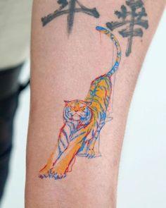 Tiger tattoo designs - combination of power, wisdom and fear of death - . - Tiger Tattoo Designs – combination of power, wisdom and fear of death – tattoos – - Tattoo Drawings, Body Art Tattoos, Small Tattoos, Sleeve Tattoos, Random Tattoos, Skull Drawings, Finger Tattoos, Pretty Tattoos, Beautiful Tattoos