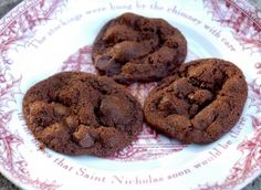 Chocolate Ginger Cookies from the Four Seasons Hotel