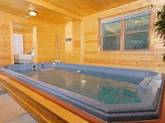 Skinny Dippin' is the perfect honeymoon, anniversary or romantic cabin for a getaway for two. It is located less than a mile from downtown Gatlinburg and all the attractions it has to offer. Good Rates Nov & Dec