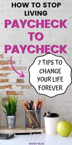 Are you tired of being broke? Then, it is time to learn how to stop living paycheck to paycheck. Understand how to save money instead of running short on cash. These budgeting tips will start your path to financial freedom. Money Hacks, Money Tips, Money Saving Tips, How To Be Rich, How To Become, Rainy Day Fund, Making A Budget, 2020 Vision, Payday Loans
