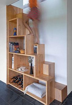 Genius loft stair for tiny house ideas (13)