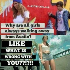Seriously!!!?!! Who would walk away from that I would walk towards him not away
