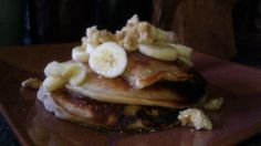 Banana Walnut Pancakes Pancakes, Banana, Breakfast, Healthy, Kitchen, Recipes, Food, Kitchens, Morning Coffee