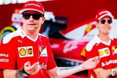 Kimi Raikkonen and Sebastian Vettel #ItalianGP #F1 2016