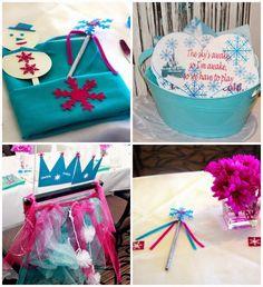 Decoración de Fiestas Infantiles de Frozen : Fiestas Infantiles Decora