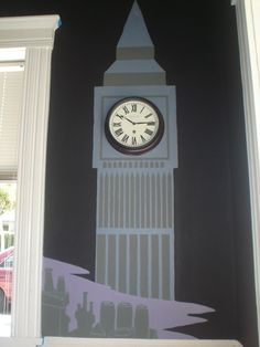 Neverland Themed Wall