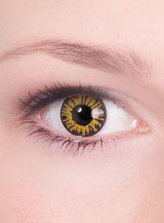 Werwolf Spezialeffekt Kontaktlinse  #contactlenses #cosplay  #halloween #sfx