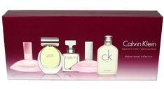 Calvin Klein Deluxe 5 Piece Miniature Perfume Gift Set For Women #CalvinKlein