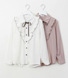 Western Tops, Ruffle Blouse, Fashion Outfits, Long Sleeve, Sleeves, Clothes, Women, Outfits, Fashion Suits
