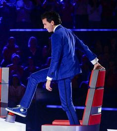 Mika on The voice being very random... :-)