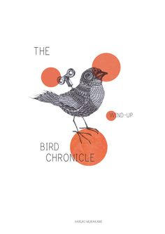 The Wind–Up Bird Chronicle Book Cover by Celia Arellano via Behance. Haruki Murakami