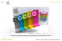 Retail Point of Purchase Design | POP Design | Electrical POP Display | Point of Sale Design pinned by room one