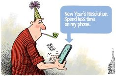 Mystery Fanfare: Cartoon of the Day: New Year's Resolution