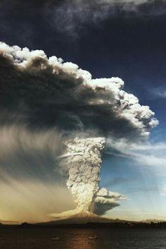 Erupción volcán Calbuco, Chile 2015