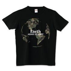 ARMY PRANET | デザインTシャツ通販 T-SHIRTS TRINITY(Tシャツトリニティ)