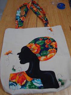 African Art Paintings, Painted Bags, Africa Art, Bag Patterns To Sew, Fabric Bags, Quilted Bag, Fabric Painting, Handmade Bags, Fabric Crafts