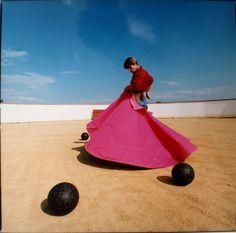 Raphaël Lambours (XXème siècle), Torero pour Vuitton, c.1990.  Photo Boisgirard