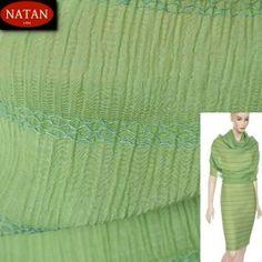 Plisowana tkanina bawełniana