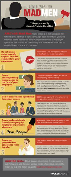 Legal Lessons from Mad Men [RocketLawyer] vía Marketing directo