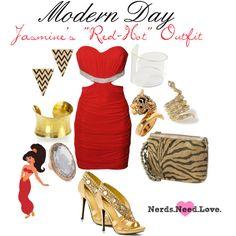 Modern Day Jasmine, created by jordy-pie