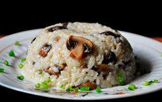 Gourmandelle Lifestyle Blog: Brown Rice Mushroom Pilaf
