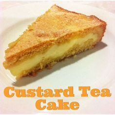 Custard Tea Cake Thermomix Method Included Mother Hubbard s Cupboard Baking Recipes, Cake Recipes, Dessert Recipes, Custard Recipes, Milk Recipes, Cupcakes, Cupcake Cakes, Custard Ingredients, Custard Cake