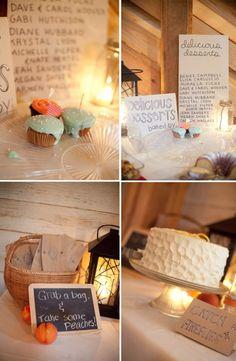 Bake Sale dessert table