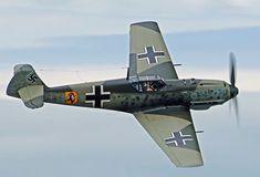 Messerschmitt Bf-109 Ww2 Aircraft, Fighter Aircraft, Military Aircraft, Fighter Jets, Raf Centenary, Airplane Fighter, Ww2 Planes, Aircraft Design, Luftwaffe