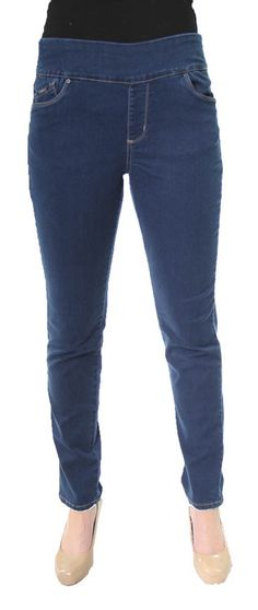 Jeggings in Indigo by French Dressing Jeans