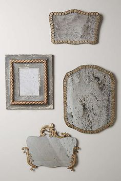 weathered mirrors